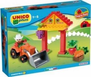 Set Unico Plus mic Ferma 21 piese Lego