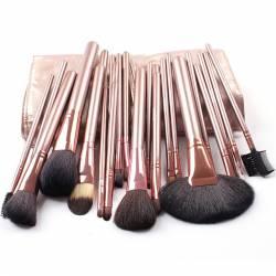 Set 24 Pensule Machiaj Cosmetic Par Natural Make Up Profesional