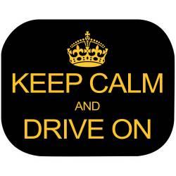 pret preturi Set 2 parasolare Keep Calm and Drive On Eurasia 10940 B3102860
