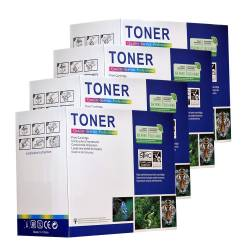 pret preturi Set 4 cartuse TONER compatibile BROTHER TN135 Negru + Color