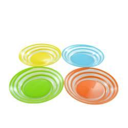 Set 4 farfurii colorate  Vesela pentru masa