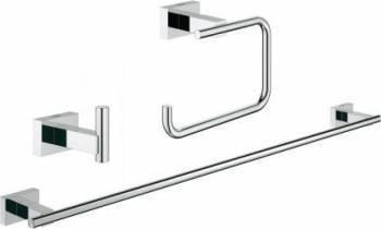 Set accesorii baie 3 in 1 Grohe Essentials Cube Accesorii sanitare