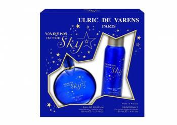 Set Ulric de Varens Varens in the Sky Femei Apa de Parfum 50 ml + Deodorant antiperspirant 125 ml Seturi Cadou