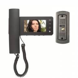 Set videointerfon poarta cu fir monitor LCD touchscreen camera color Home Videointerfoane