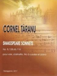 Shakespeare Sonnets No.8 128 66 116 - Cornel Taranu
