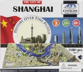 SHANGHAI Puzzle 4D Cityscape Jucarii Interactive