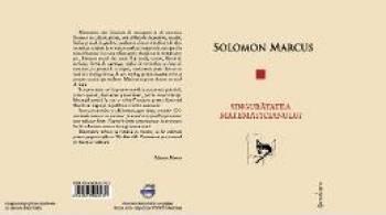 Singuratatea Matematicianului - Solomon Marcus