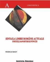 Sintaxa Limbii Romane Actuale - Rodica Nagy
