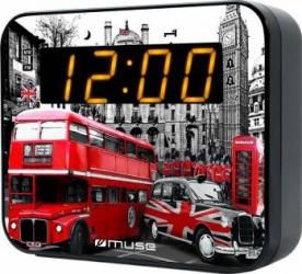 Radio cu ceas Muse M-165 Dual Alarm LED LD Ceasuri si Radio cu ceas