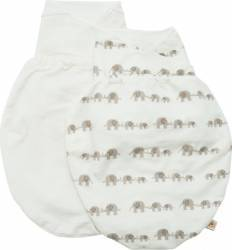Sistem de Infasare Ergobaby Natural si Elefant ML 2buc Mese De Infasat