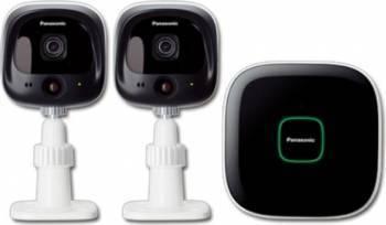 Sistem de monitorizare si control Panasonic KX-HN6002FXW Kit Smart Home si senzori
