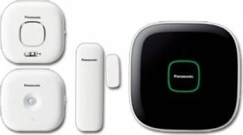 Sistem de monitorizare si control Panasonic KX-HN6011FXW Kit Smart Home si senzori