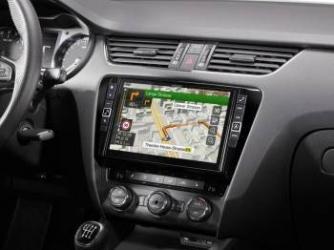 Sistem de navigatie Alpine X901D-OC3 Skoda Octavia 3 Navigatie GPS