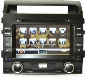 Sistem de navigatie DVD TV TTi 6030 dedicat Toyota Land Cruiser 200 Navigatie GPS