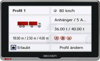 Sistem de navigatie GPS Becker Transit 5S EU Truck Navigatie GPS