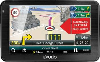 Sistem de navigatie GPS Evolio Preciso 7.0, Full Europa Navigatie GPS