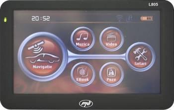 pret preturi Sistem de Navigatie GPS PNI L805 5 inch Negru