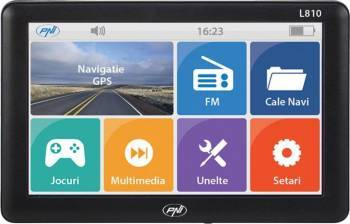 Sistem de navigatie GPS PNI L810 - 7 inch, 800 MHz, 256M DDR, 8GB memorie interna, Modulator FM Navigatie GPS