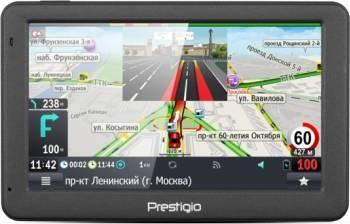 Sistem de navigatie GPS Prestigio GeoVision 5059 5inch Dark Grey Navigatie GPS