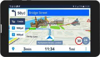 Sistem de navigatie GPS Prestigio GeoVision Tour 3 Harta Europa + actualizari gratuite pe viata Resigilat Navigatie GPS