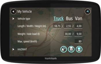 Sistem de navigatie GPS TomTom Go Professional 520 5 Navigatie GPS