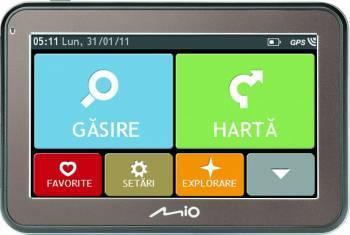 Sistem de navigatie Mio 5100 4.3 inch No Map Navigatie GPS