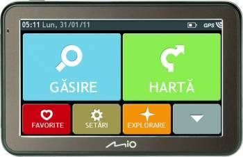Sistem de navigatie Mio Spirit 7500 5 inch No Map Navigatie GPS