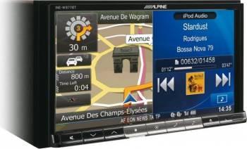 Sistem de Navigatie Multimedia 2-Din Alpine INE-W977BT Navigatie GPS