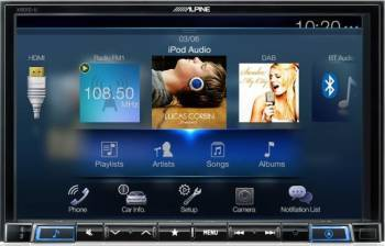 Sistem de navigatie multimedia Alpine X801D-U Navigatie GPS