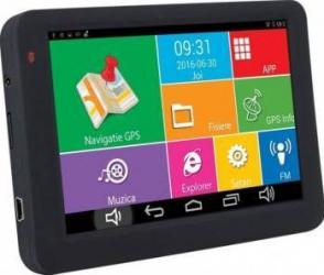 Sistem de navigatie portabil PNI S506 ecran 5 inch Android si Waze cu radarele din Romania Navigatie GPS
