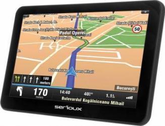 Navigatie GPS Serioux Urban Pilot 7 inch + Harta Europei + Update pe viata