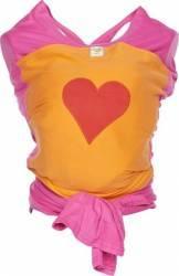 Sistem de purtare Wrap Elastic Deluxe Design HEART Marsupii si landouri