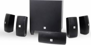 Sistem Home Cinema JBL Cinema 610 cu Subwoofer Negru Sisteme Home Cinema