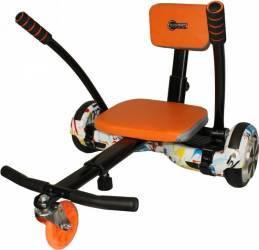 Sistem karting Nova Vento Hv6.5 Black pentru ancorarea pe hoverboard Orange