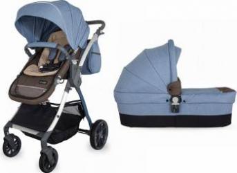 Sistem Modular Coccolle Acero 2 in 1 Albastru Carucioare copii
