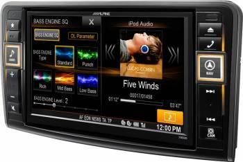 Sistem Navigatie Alpine Style X800D-ML pentru Mercedes-Benz ML W164 si GL X164 Navigatie GPS