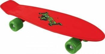 Skateboard copii Cruiserboard model Red Bored 53cm Penny Board