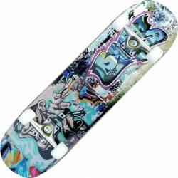 Skateboard Eagle Pro ABEC-7, PU, Aluminiu, 80 cm Burn Penny Board