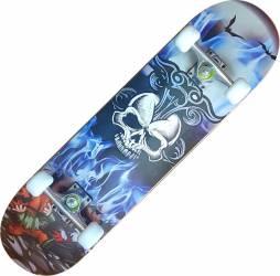 Skateboard Eagle Pro ABEC-7, PU, Aluminiu, 80 cm Hell Penny Board