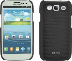 Skin Blautel 4-OK Carbon Samsung Galaxy S3 Negru huse telefoane