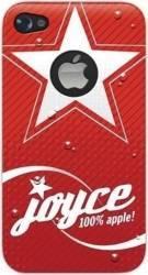Skin Blautel 4-OK Joyce Apple iPhone 4 4s Rosu huse telefoane