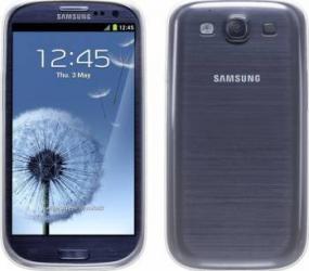 Skin Blautel TPU 4-OK Protek Samsung Galaxy S3 Transparent huse telefoane