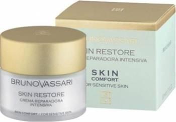 Crema de zi Bruno Vassari Skin Comfort Skin Restore Plus Creme si demachiante