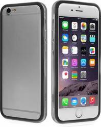 Bumper Transparent PVC iPhone 6-6S Black huse telefoane