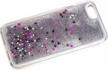 Skin Tellur Glitter iPhone 6 6S Alb huse telefoane