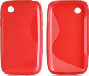 Skin Jelly Case pentru Lg L40 Rosu
