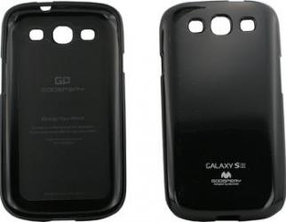 Skin MY-JELLY Samsung Galaxy S3 i9300 Negru Huse Telefoane