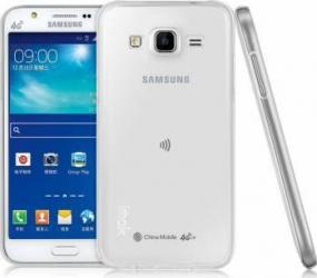 Skin OEM Ultraslim Samsung Galaxy J5 J500 2015 Transparent huse telefoane