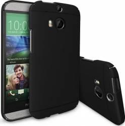 Skin Ringke Eco Slim HTC One M8 Black + Folie