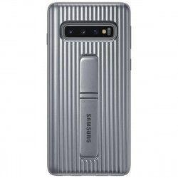 3176dc8f0a8 Husa de protectie Samsung Standing Cover pentru Galaxy S10 G973 Silver Huse  Telefoane